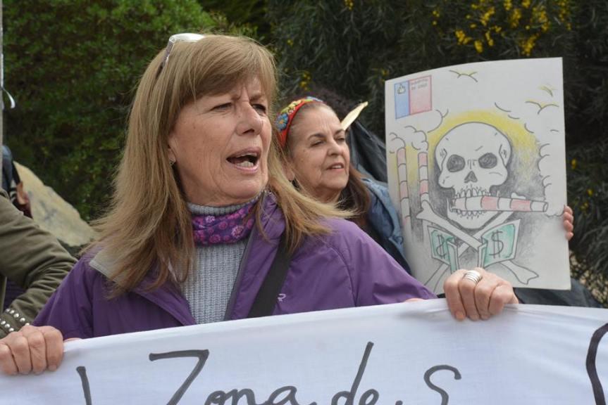 Amplio rechazo a amenazas en contra de vocera de Mujeres de Zona de Sacrificio Quintero-Puchuncaví enResistencia