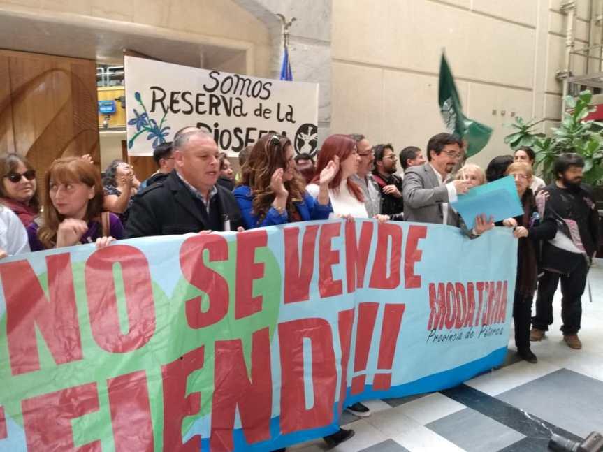 """Senador Juan Ignacio Latorre: """"Tenemos que garantizar al agua como un derechohumano"""""""