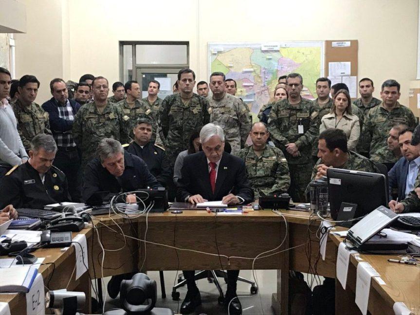 Piñera está fuera de la Constitución: Presenta tu amparo preventivo contra el toque dequeda
