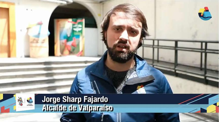 """Alcalde Jorge Sharp hace balance de primera jornada bajo """"Estado de Excepción"""" enValparaíso"""
