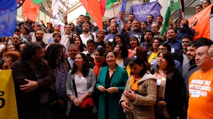 Frente Amplio ratifica que no suscribirá pactos nacionales con partidos fuera de lacoalición