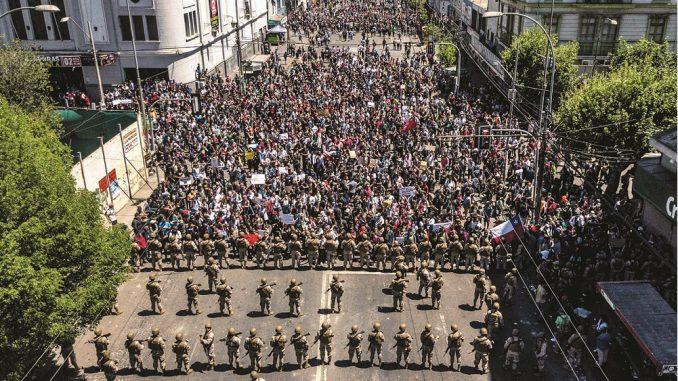 Organizaciones sindicales dan ultimátum a Piñera: en 5 días debe responderdemandas