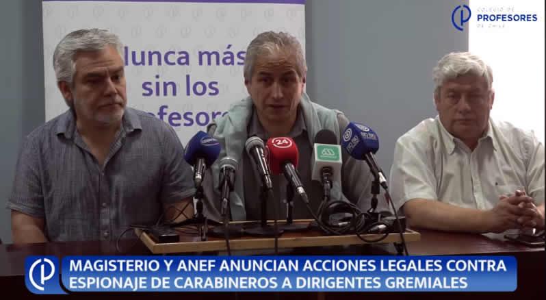 """""""Pacoleaks"""": Colegio de Profesores y ANEF anuncian accioneslegales"""