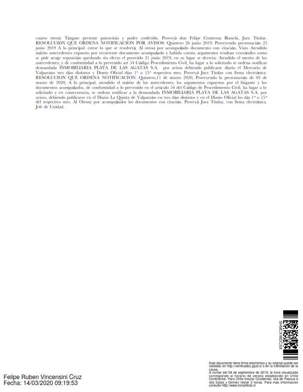 Publicacion Notificacio Diario La Quinta, condominio con Inmobiliaria_002