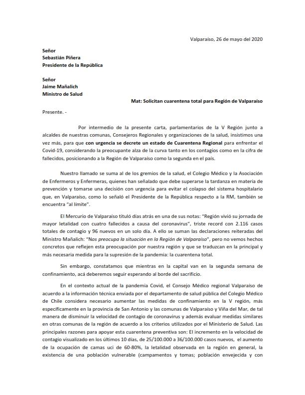 Carta cuarentena regional con firmas_001