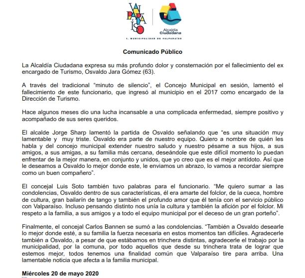 Gmail - Comunicado Público Fallecimiento Osvaldo Jara_001