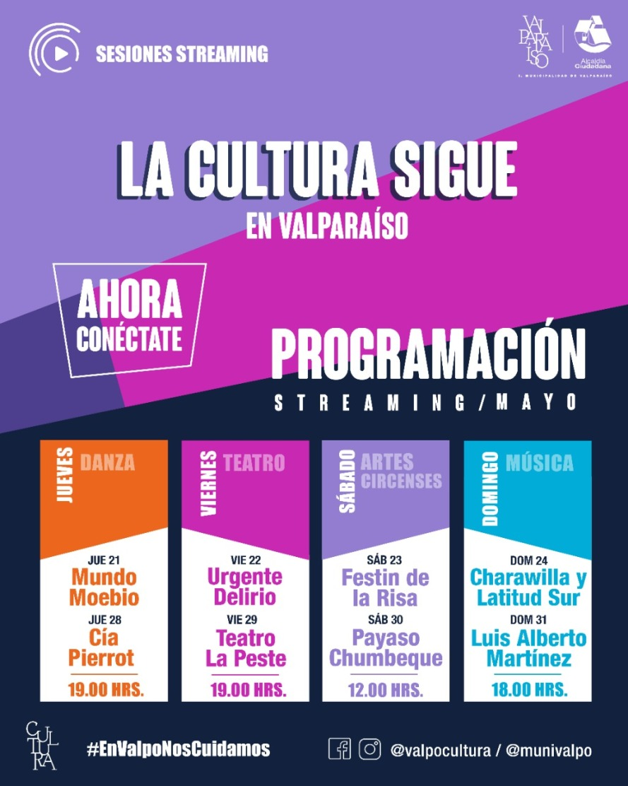 PROGRAMACIÓN CULTURAL STREAMING