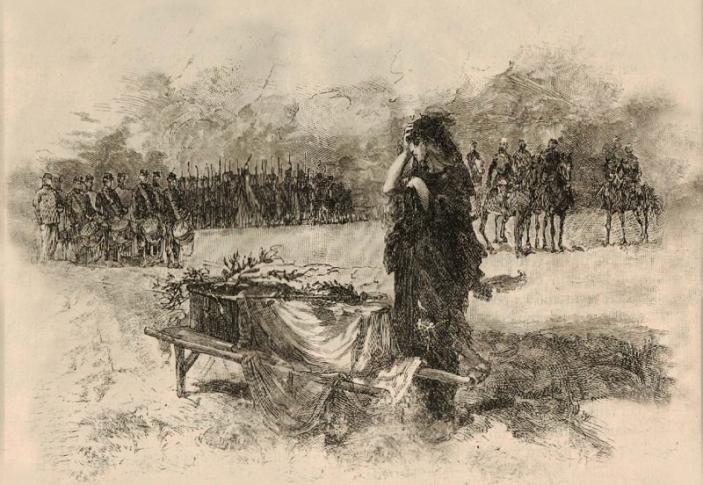 cantinera velando un soldado (1)