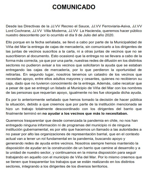 Declaración Pública Juntas de Vecinos_001