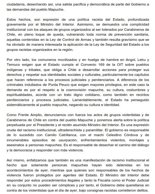 Declaración Mesa Nacional por grave situación en Wallmapu_002
